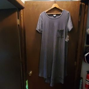 Gray LULAROE Carly xl